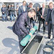 Im Frühjahr hat die Baugenossenschaft Odenwaldring mit dem Bau von 52 Wohnungen auf dem Gelände der ehemaligen Milchhofsiedlung begonnen. Foto: Georg (b)